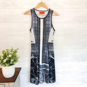 Clover Canyon Black White Strapless Mini Dress 8